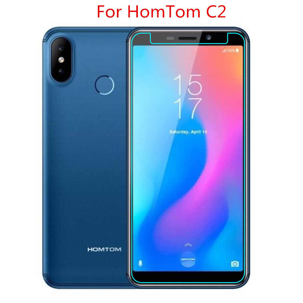 2.5D 9H Tempered Glass For HomTom C2 Glass on Phone Film Protective Screen Protector For HomTom C2 Glass