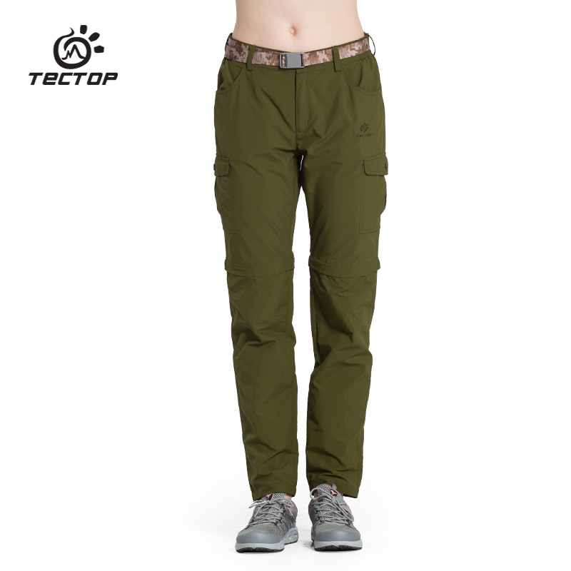 Dropshipping mountaineer Hiking pants women outdoor anti-UV breathable sports quick-drying sport pants camping pants