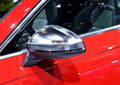 2 pcs Substituição de Visão Traseira Do Carro Espelho Retrovisor Caps Capa Guarnição Para Audi A4 B9 2016 2017