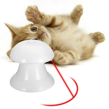 Super fun 360 degree rotating laser cat toy