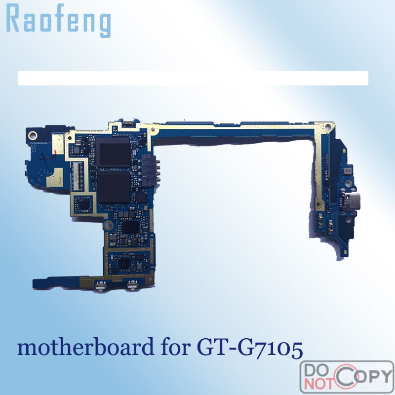 Raofeng unlocked for Samsung galaxy G7105 motherboard Disassembled 16gb replacement