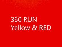 10 pz/lotto Per xbox360 x360 xbox 360 RUN GIALLO v1.0 rosso 1.1