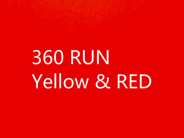 10pcs/Lot For xbox360 x360 xbox 360 RUN yellow v1.0 RED 1.1