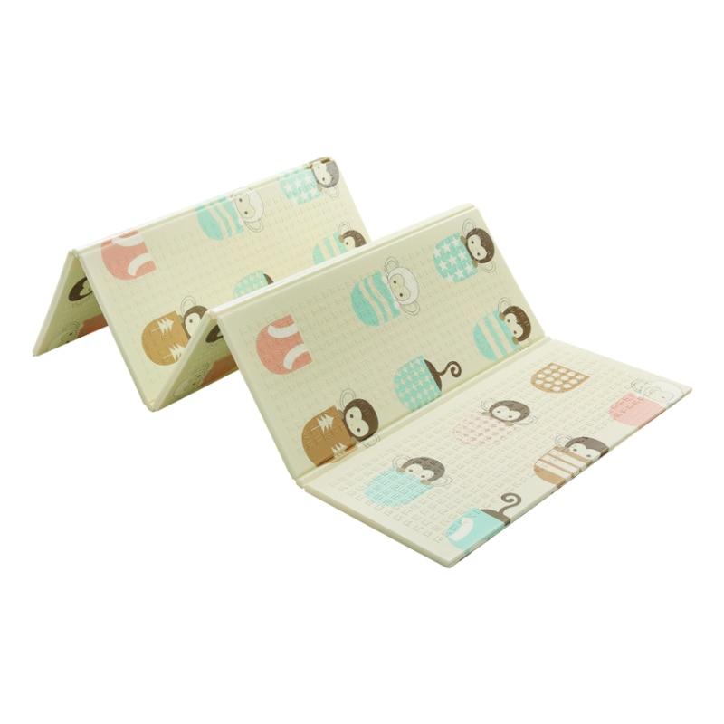 Bébé brillant 1.5 CM épais bébé tapis tapis de jeu pliable enfant tapis de jeu 200*180 CM grand enfant ramper tapis Puzzle couverture jeu Pad - 6