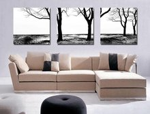 Modern Flower paintings 3 piece large canvas print wall art modular painting on decoration oil paint decorative pictures