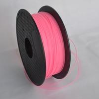 Hoge sterkte Roze kleur 3d-printer filament PLA/ABS 1.75mm/3mm 1 KG groothandelsprijs