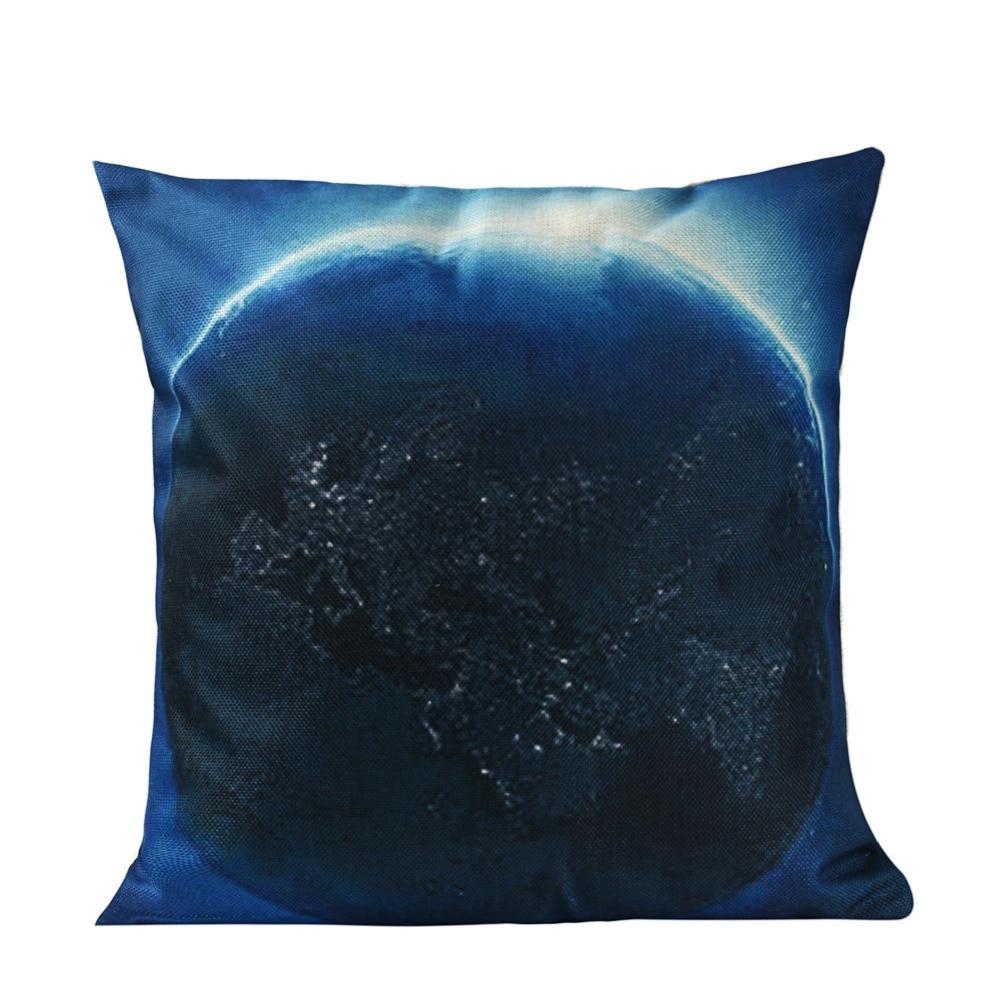 Leiner Kissen kissen fall galaxy kissenbezug planeten leinen baumwolle sofa stuhl