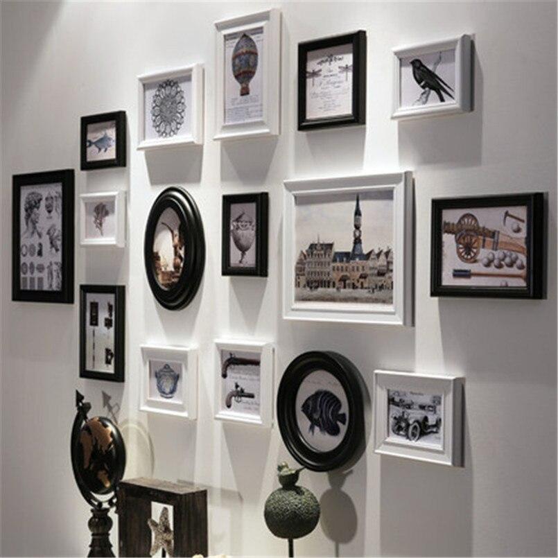 handmade photo frames family white wooden picture frame photo frames baby hanging portfolio home decor three