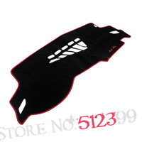 Interior Dashboard Cover Avoid Light Pad Instrument Platform Dash Board Cover Mat For Audi A4 2008