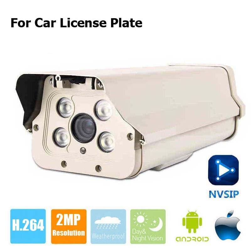 Caméra de plaque d'immatriculation de voiture extérieure 1080 P caméra IP de balle 2MP Zoom 6-22mm lumière blanche LED WDR caméra de vidéosurveillance varifocale manuelle NVSIP