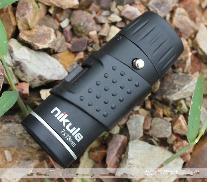 Hot! Monocular Scope 7x18 Portable Outdoor Monocular Telescope Mini hunting Monocular Telescope , Free shipping mini pocket monocular telescope binocular