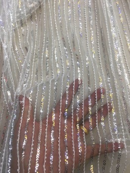 beautiful french net lace with good quality for bridal dress z-han11870 embroidery tulle mesh lace fabric