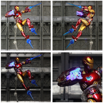 Iron Man Action Figure Mark 85 Armor Avengers End Game Edition 6inch 1