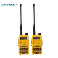 vhf uhf מכשיר הקשר Baofeng UV-5R 2pcs / הרבה שני הדרך רדיו Baofeng uv5r 128CH 5W VHF UHF 136-174Mhz & 400-520Mhz (4)