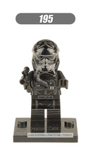 No.195 TIE Fighter Pilots star wars TFA The Force Awakens Individual minifigure super hero compatible With Legoe single sell