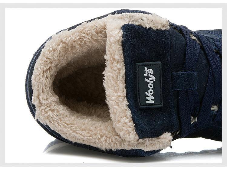 47f35d1925778 Women Sneakers 2018 Women Shoes Winter Women Casual Shoes Super Warm Snow  Shoes Woman Plus Size ...