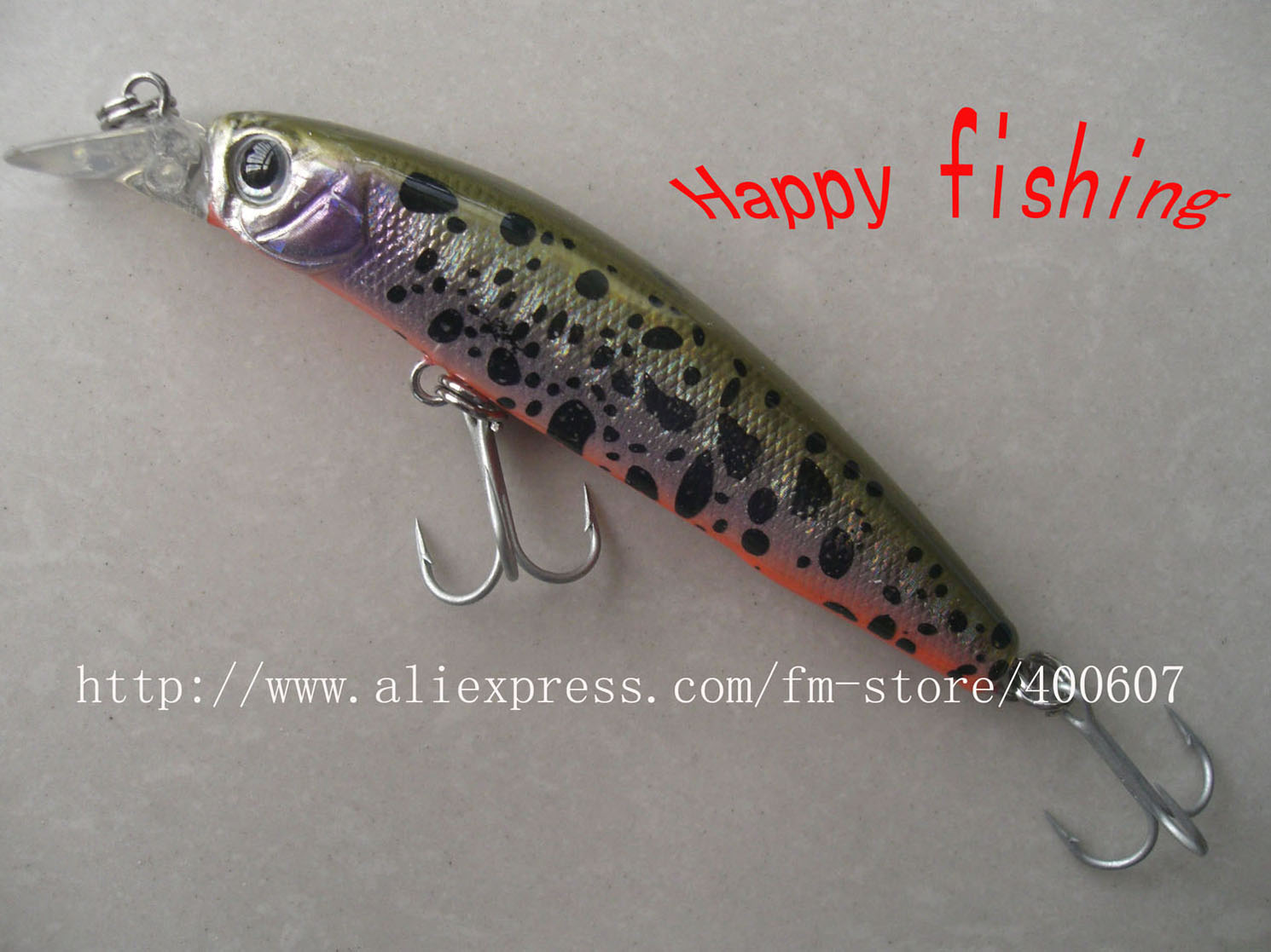 Buy japanese style bass terminator minnow for Fish bait store
