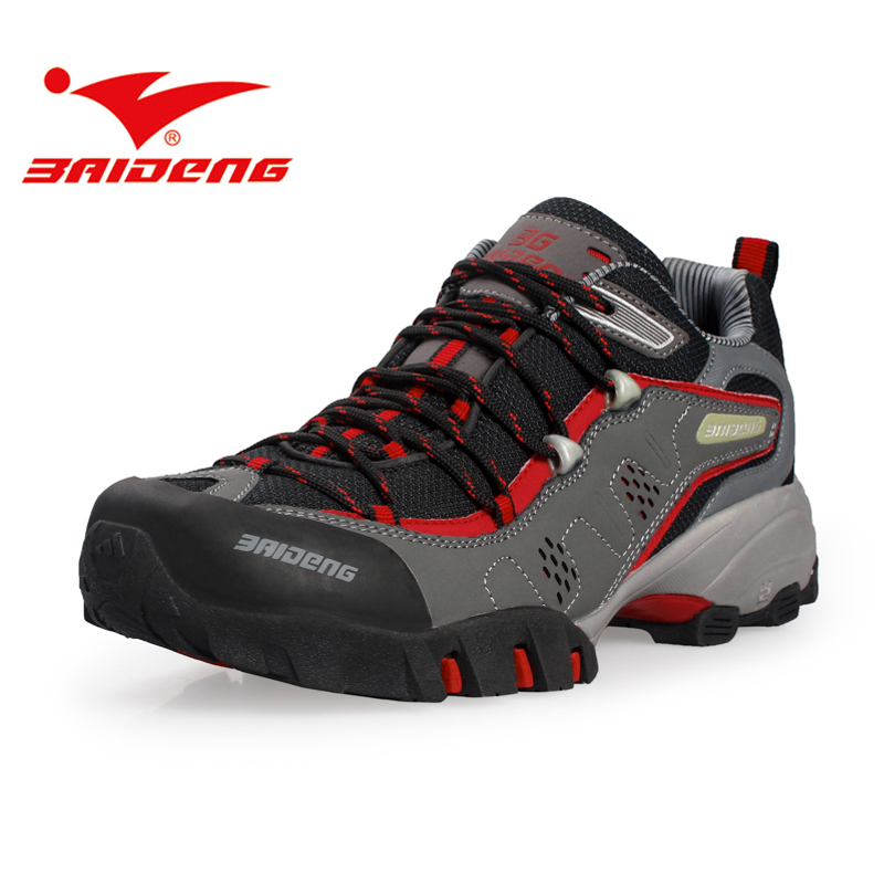 Baideng men women hiking shoes sneakers waterproof outdoor trekking sport Shoes Men Climbing Shoes zapatillas deportivas hombre 2017brand sport mesh men running shoes athletic sneakers air breath increased within zapatillas deportivas trainers couple shoes