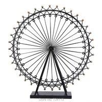 Mini Ferris Wheel Romantic Lucky Ferris Wheel Home Artwork Gift For Friend For Lover Retro Iron