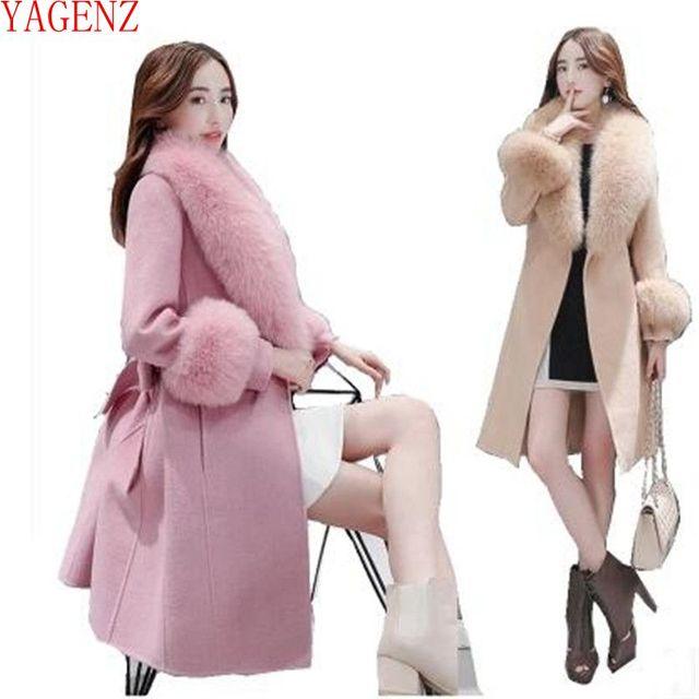 Модное женское зимнее пальто 0838ee05a5142