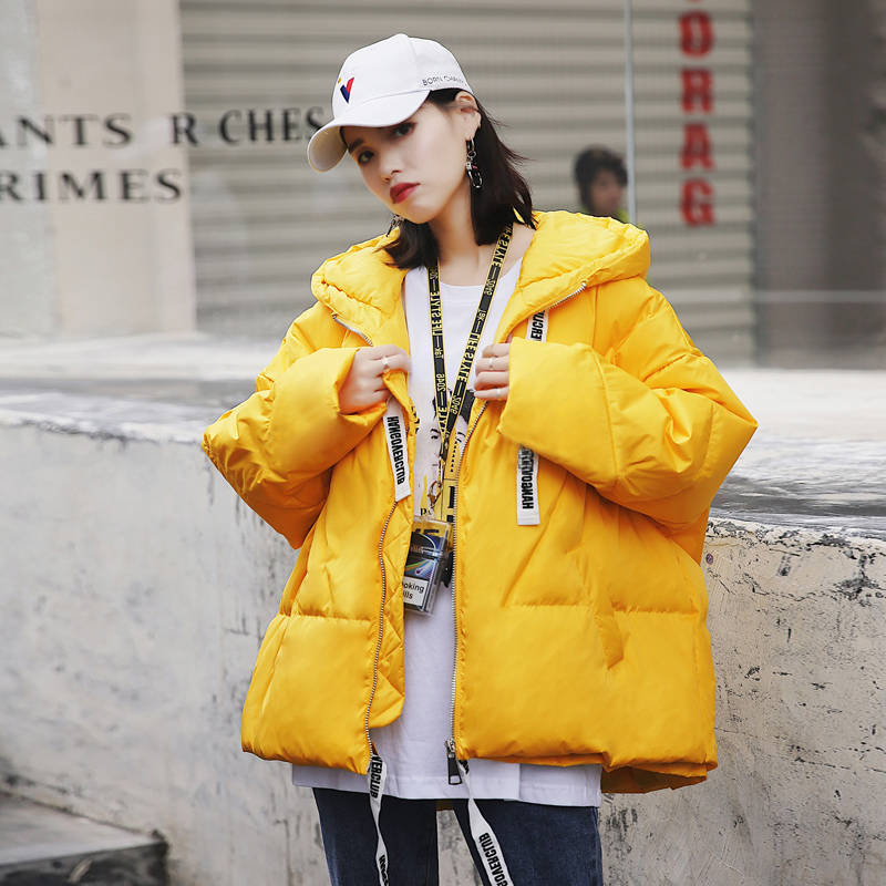 Thicken Winter Jacket Women Turtleneck Hooded Cotton-Padded   Parka   Women Clothes 2019 New Arrival Shiny Winter Coat Female   Parkas