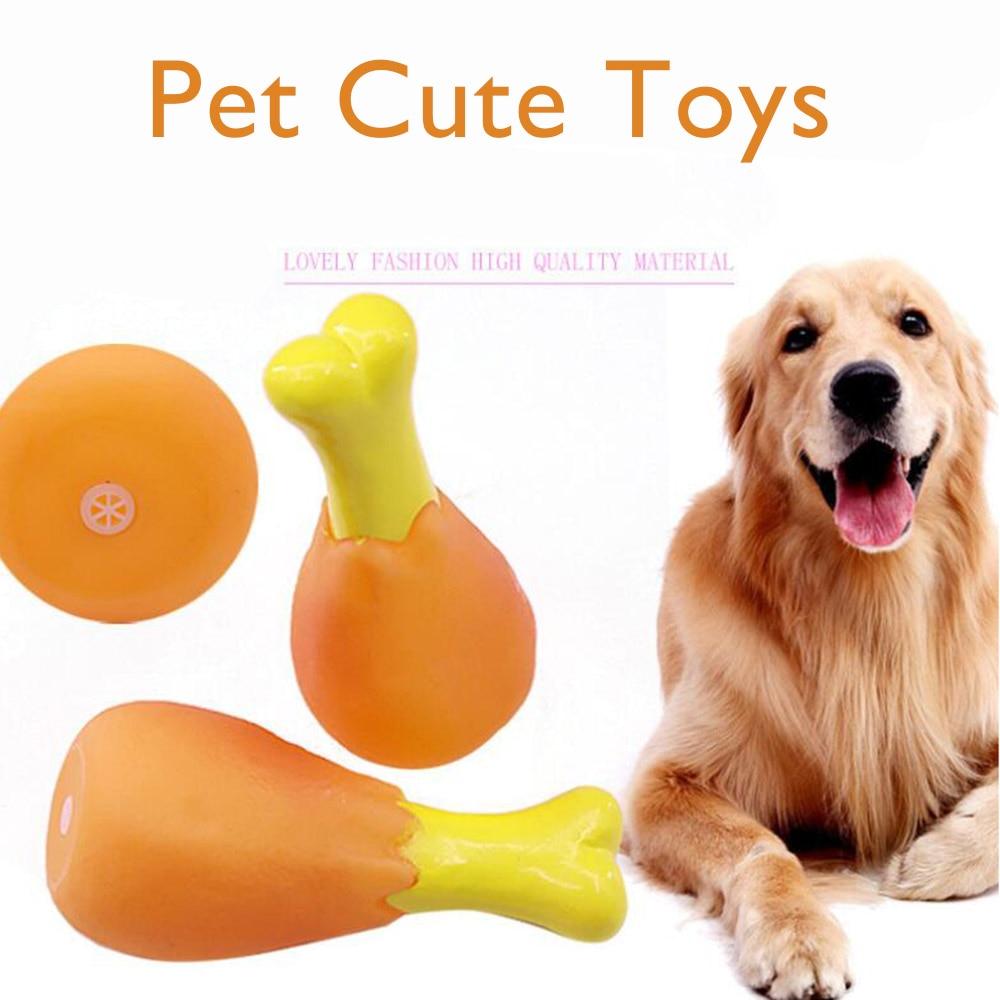 1 Pc 15 Cm Kip Been Hond Piepend Speelgoed Chew Emulatie Squeeze Chew Toy Pet Puppy Huisdieren Voor Honden Benodigdheden 55 Gb