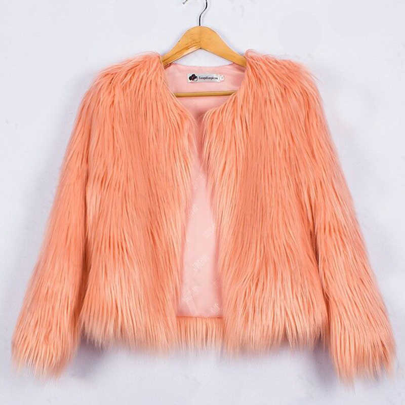 922dae7c575b Detail Feedback Questions about 2018 Autumn Kids Fur Jackets For ...