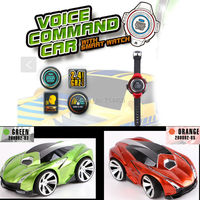 Voice Command RC Car With Smart Watch Kid S Toy Mini Car 2 4G 6CH Radio
