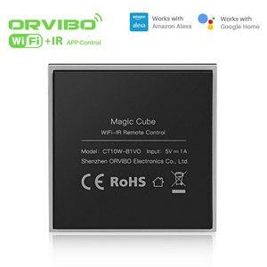 Image 4 - Orvibo sihirli küp evrensel akıllı kontrol öğrenme fonksiyonu ile WiFi IR kablosuz uzaktan kumanda akıllı ev otomasyonu