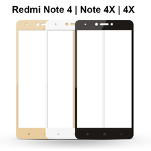 Protective Glass Full Screen Xiaomi Redmi 4X Redmi Note 4X 16/32G/64GB Global Version Screen Protect Tempered Glass Redmi Note 4 цена и фото