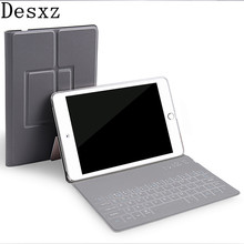 Desxz 7.9 inch Case for iPad mini 1 mini1 2 3/4 Wireless Bluetooth keyboard PU Protective Ultra thin Tablet Cover tablet kindle