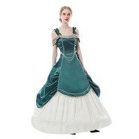 Lolita retro palace dress Princess style waist OP dress