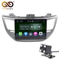 Okt 8 Rdzeń 4G RAM + 32G ROM Android 6.0 multimedia Samochodów GPS DVD Nadające Się Do Hyundai TUCSON/IX35 2015 2016 TV Radio
