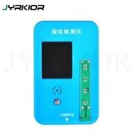 Jyrkior botão de início  impressão digital  fixação inteligente  touch id  programador de verificação para iphone 5S/6g/6p/6s/6sp/7/7p/8/8p
