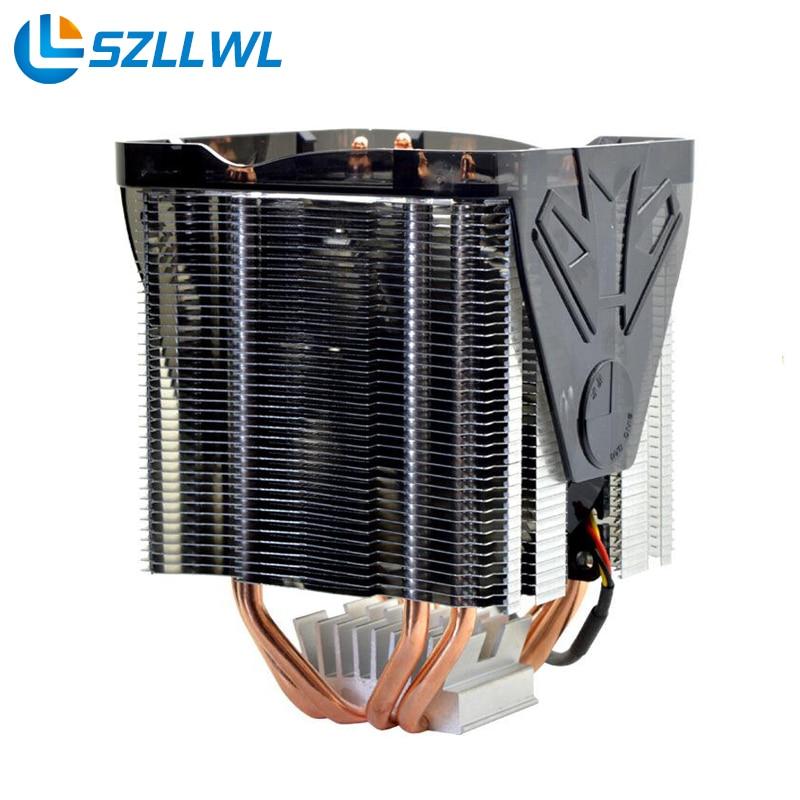 Frozen Jazz AMD/Intel employed universally Practical CPU Cooling Fan Heat Sink Dual Heat Pipe for Desktops thermalright le grand macho rt computer coolers amd intel cpu heatsink radiatorlga 775 2011 1366 am3 am4 fm2 fm1 coolers fan