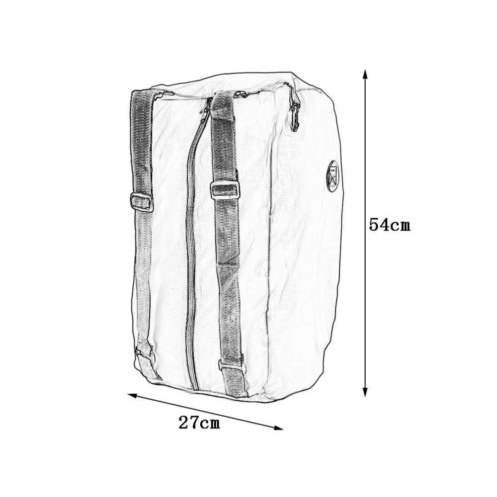 2016 nouveau sac à main d'épaule pliable multifonction Shopper réutilisation fourre-tout pratique plage Shopping voyage sac à dos vente chaude