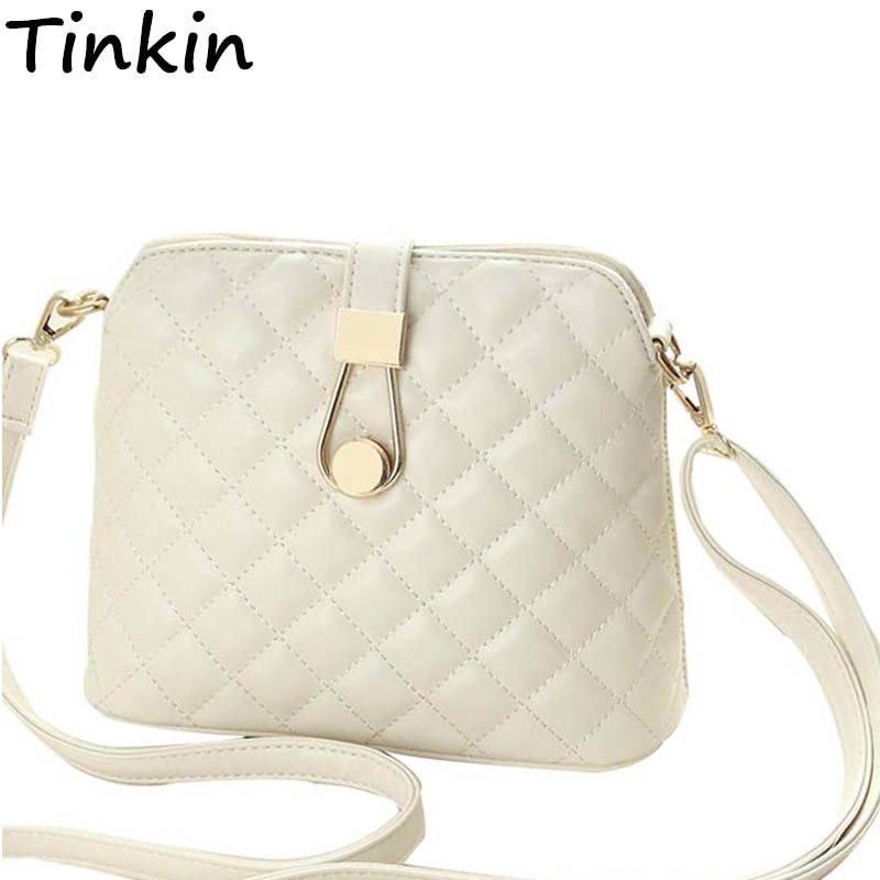 Tinkin Small Autumn Shell Bag Fashion Embroidery Shoulder Bag Women Messenger Bag Hot Sale Female Crossbody Bags