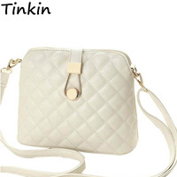 Tinkin 2015 Small Autumn Shell Bag Fashion Embroidery Shoulder Bag New Women Messenger Bag