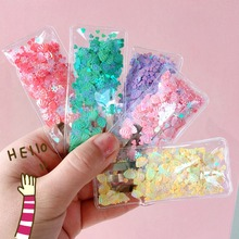 Korea Hair Accessories  Colorful Shell Sequin Clips For Girls Crystal BB Hairgrips Hairpins Barrette