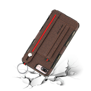 Image 5 - heavy duty protection phone Case for iphone xs max xr 8 7 6 5 6S Plus anti scratch Wallet CaseCard Pocket Finger Ring cover