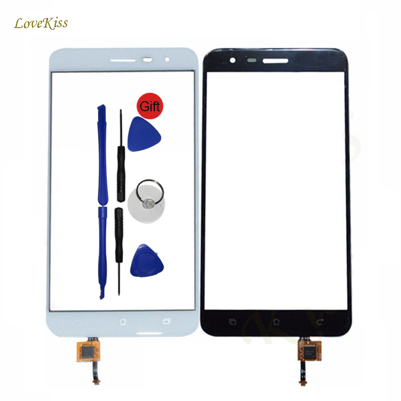For iPad 3 4 Front Panel Touch Screen Front Glass Sensor Digitizer Repair White