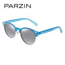Parzin бренд Ретро Круглый Рамка поляризационные Солнцезащитные очки для женщин Женская Мода красочные очки женские вождения Очки Best подарок 9866