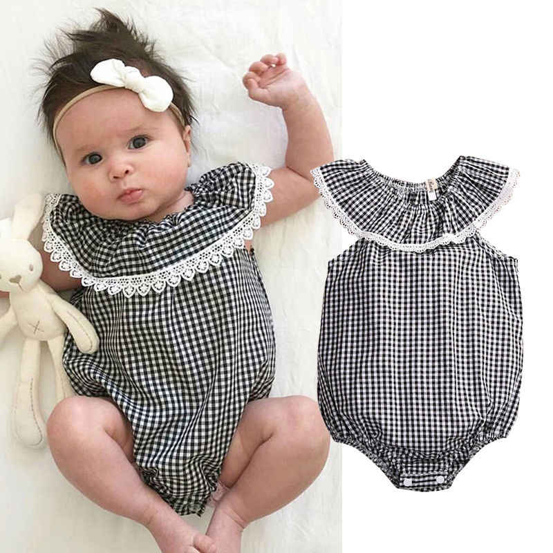 ac3a157e4 Detail Feedback Questions about Cute Newborn Baby Girl Clothes 2017 ...
