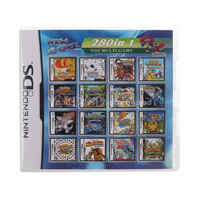 Nintendo DS 280 IN 1 F01 Video Game Cartridge Console Card