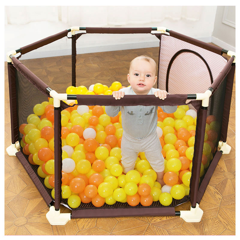 0~5 Years Baby Kids Plastic Playpen Toddler Crawling Folding Playinghouse Protection Safety Care Fence Playpens with Ocean Balls0~5 Years Baby Kids Plastic Playpen Toddler Crawling Folding Playinghouse Protection Safety Care Fence Playpens with Ocean Balls