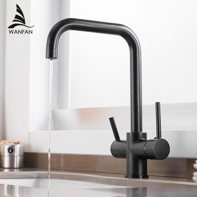 Robinets filtre à eau robinets de cuisine mélangeur en laiton cuisine potable purifier robinet évier de cuisine robinet d'eau robinet grue pour WF-0187 de cuisine