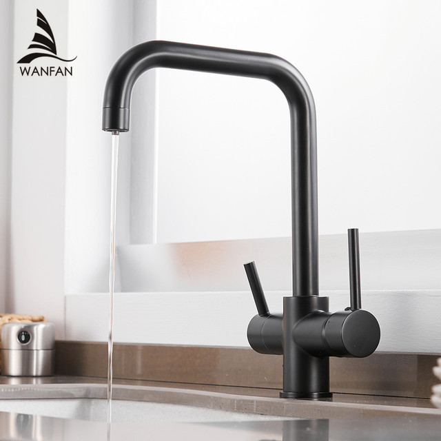Us 53 99 45 Off Waterfilter Taps Kitchen Faucets Brass Mixer Drinking Kitchen Purify Faucet Kitchen Sink Tap Water Tap Crane For Kitchen Wf 0187 In