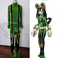 Anime My Hero Academia Asui Tsuyu Boku no Hero Academia Cosplay Costume