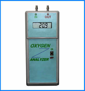 High Accuracy Portable Oxygen Analyzer Oxygen Concentrator Purity Tester Oxygen Purity Analyzer Oxygen Density Analyzer