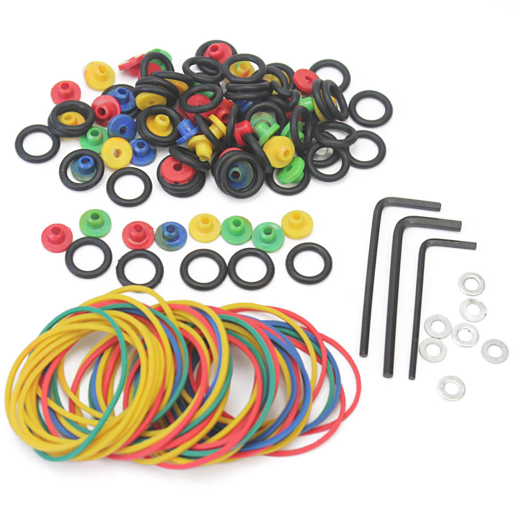 Tattoo Accessories 50pcs Tattoo Rubber Bands 50pcs Tattoo O-rings  50pcs Grommets Professional Tattoo Accesories Kit